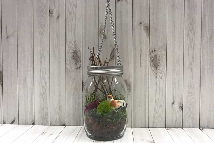 Floral Glass Jar @ All Locations | Meridian | Idaho | United States