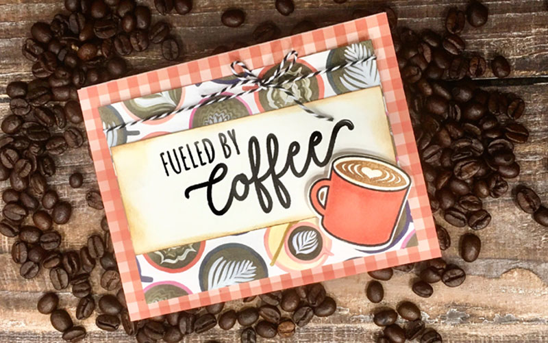 Fueled By Coffee Card