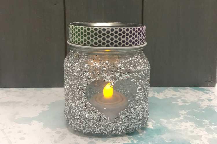 Glitter Jar Votive @ Salem Location | Salem | Oregon | United States