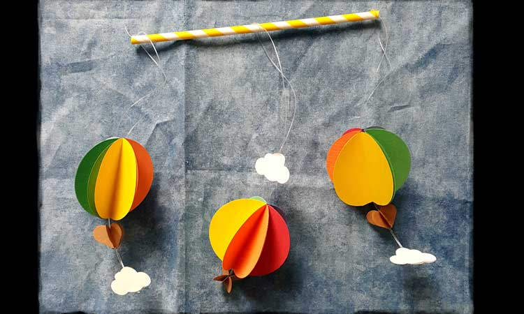 Paper Air Balloon Mobile @ Meridian Location | Meridian | Idaho | United States