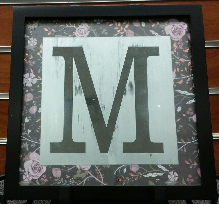 etched glass monogram frame - Monogram Picture Frame