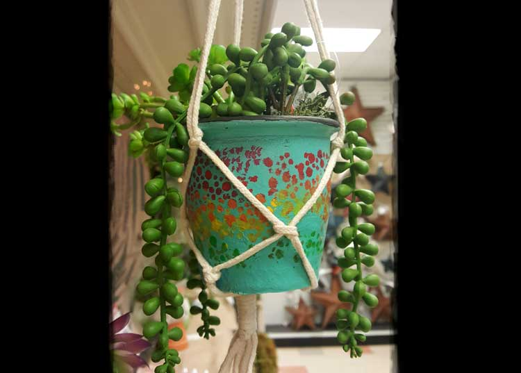 Hanging Clay Pot @ Meridian Location  | Meridian | Idaho | United States