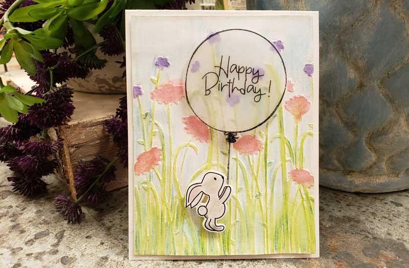 Happy Birthday Bunny Card @ Meridian Location | Meridian | Idaho | United States