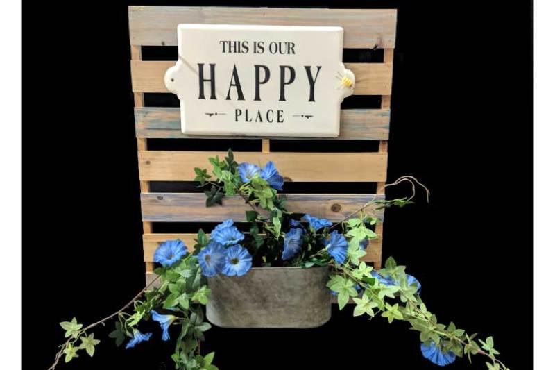 Happy Place Wall Art @ Craft Warehouse @ Gresham Station | Gresham | Oregon | United States