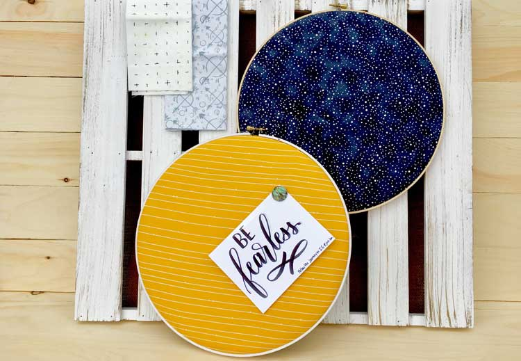 Embroidery Hoop Pin Board @ Hazel Dell Location | Beaverton | Oregon | United States