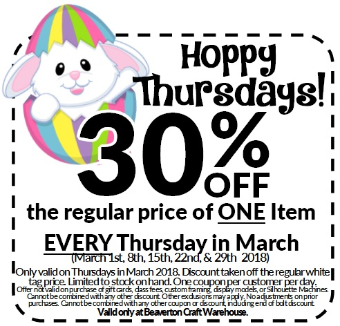 Hoppy Thursday Coupon - Beaverton @ Beaverton Location | Beaverton | Oregon | United States