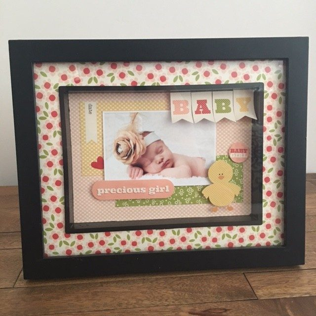 carta bella its a girl baby paper collection