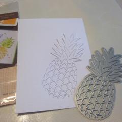 hero arts pineapple die cut