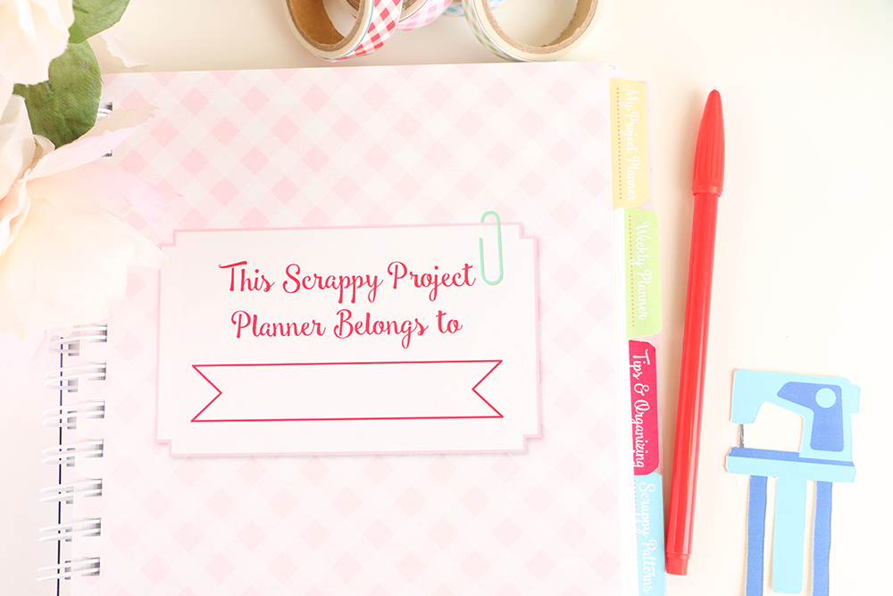 Scrappy Project Planner for Quilts sold at Craft Warehouse