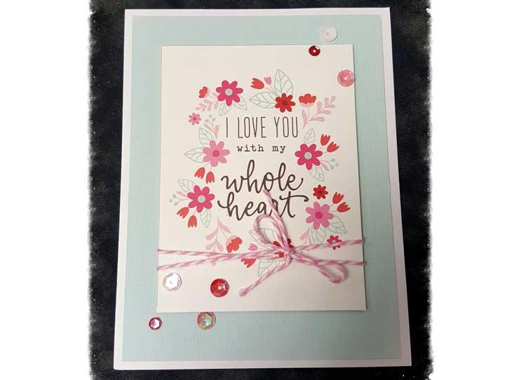 Journal Card Valentine @ Meridian Location