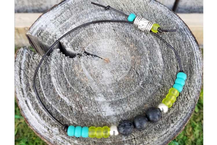 Lava Bead Knot Bracelet @ Hazel Dell, WA Location | Meridian | Idaho | United States