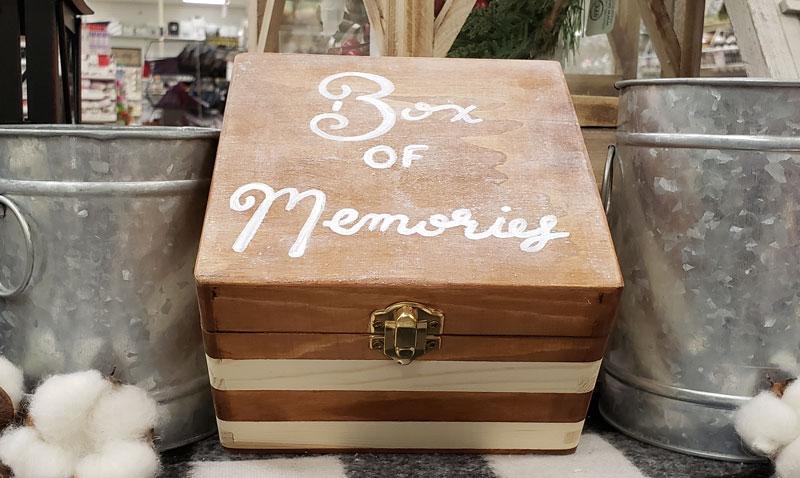 Memory Box Make & Take