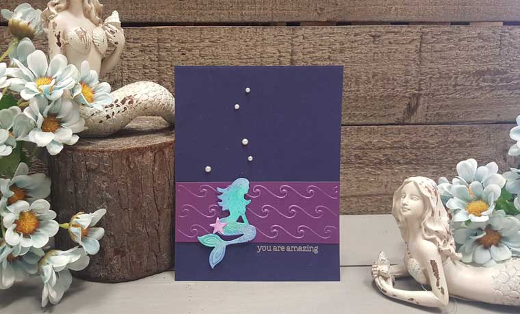 Mermaid Card Make & Take @ Meridian Location | Meridian | Idaho | United States