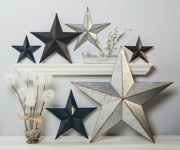 Modern Farmhouse Stars at Craft Warehouse