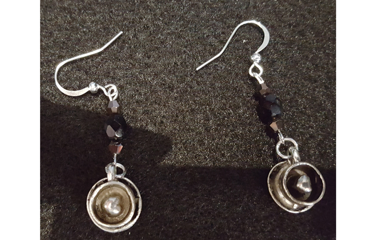 HAPPY HOUR: Mocha Earrings @ Craft Warehouse @ Gresham Station | Gresham | Oregon | United States