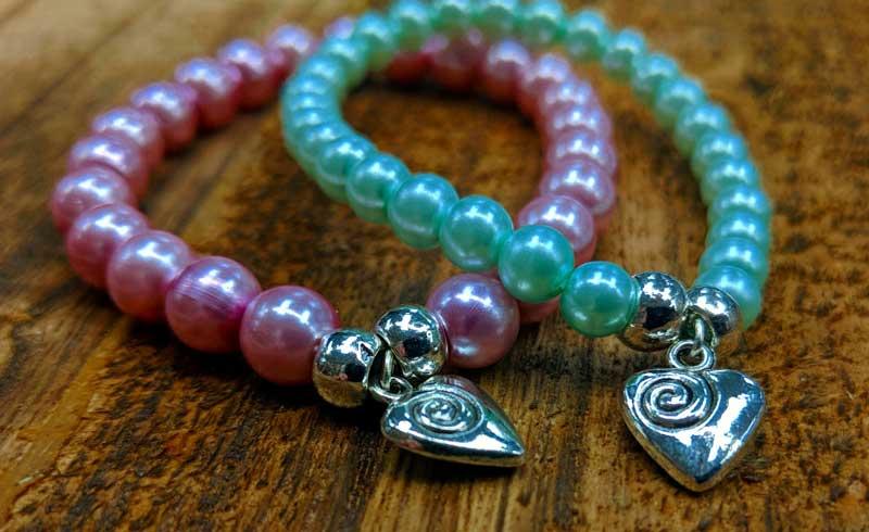 Mommy & Me Bracelets @ Craft Warehouse @ Gresham Station | Gresham | Oregon | United States