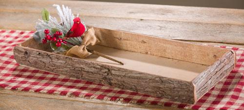 Natural Birch Wood Tray