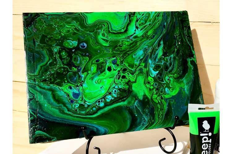 Wild Wednesday: Paint Pouring @ Hazel Dell Location | Gresham | Oregon | United States