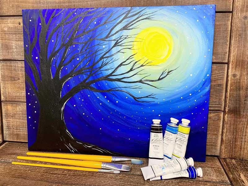 Wild Wednesday: Paint Night