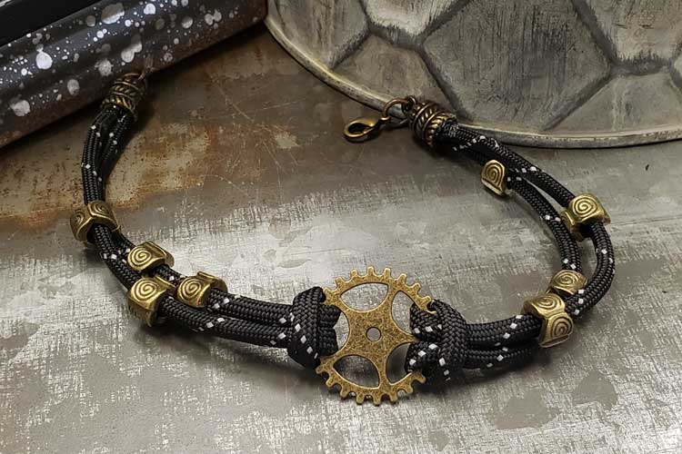 Steampunk Paracord Bracelet @ Meridian Location | Meridian | Idaho | United States