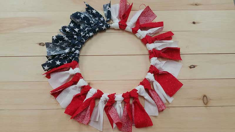 Patriotic Embroidery Hoop @ Medford Location | Medford | Oregon | United States