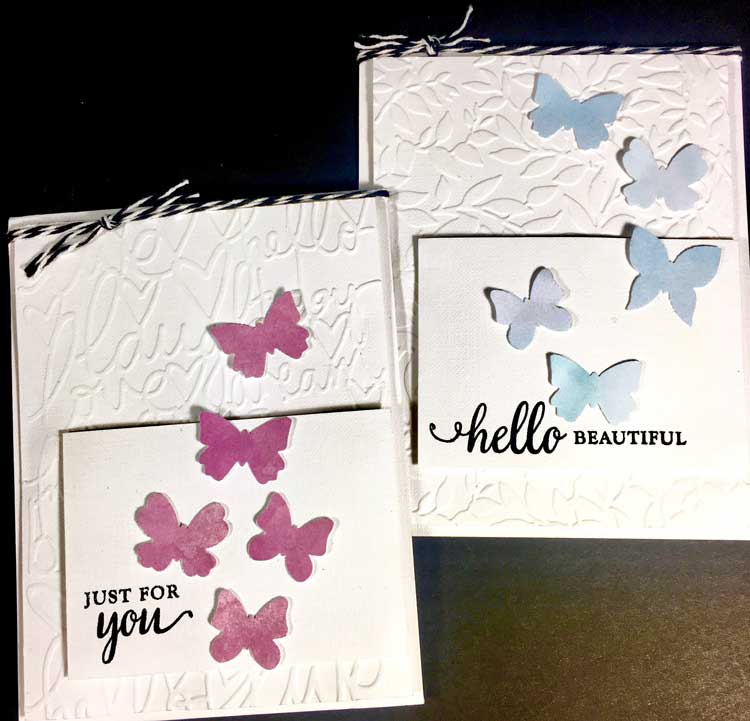 Pretty Card Make and Take