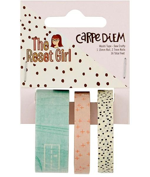 Reset Girl Washi Tape at Craft Warehouse