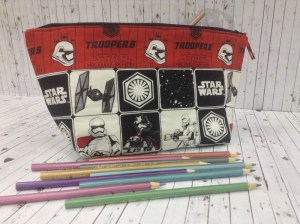 Star Wars Zippy Stripy Pencil Case