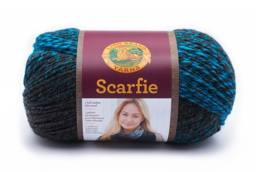 Buy Scarfie Charcoal and Aqua Yarn at Craft Warehouse