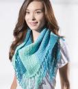 Sweet Roll yarn scarf by Premier Yarns