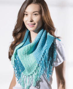 Sweet Roll yarn scarf by Premier Yarns available at Craft Warehouse