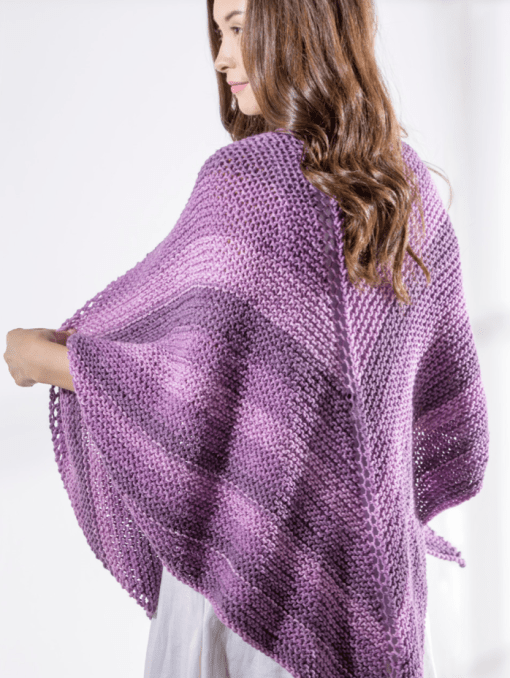 Sweet Roll Shawl by Premier Yarns available at Craft Warehouse