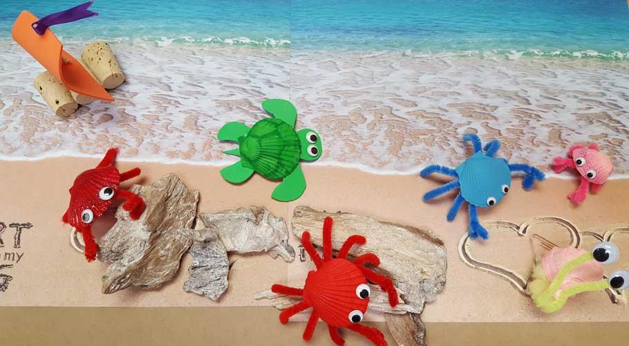 Sea-Shell-Creatures