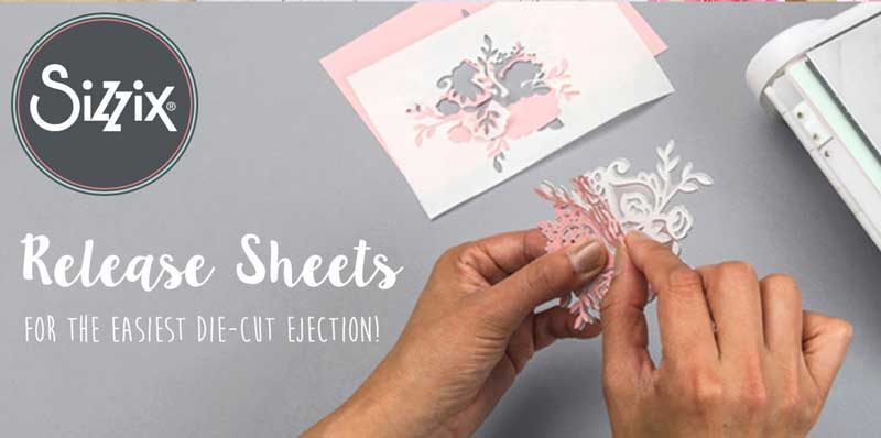 Sizzix Sticky Grid and Release Sheets Demo
