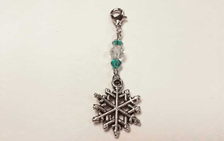 Snowflake Zipper Pull @ Beaverton Location | Beaverton | Oregon | United States
