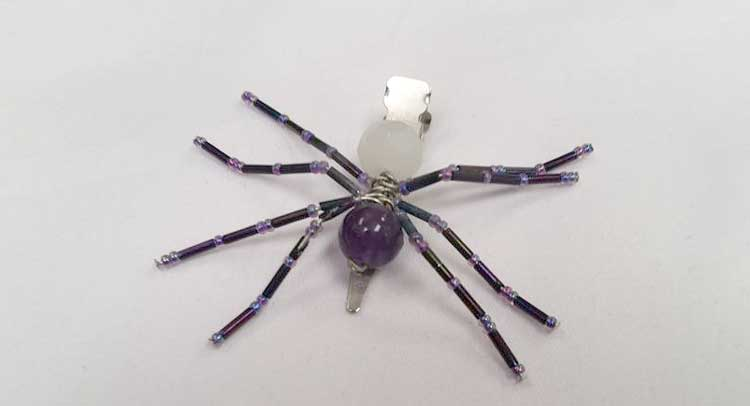 Beaded Spider Hair Clip @ Medford Location | Medford | Oregon | United States