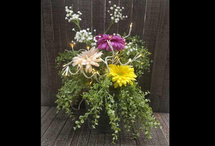 Happy Hour: Spring Lighted Floral Arrangement @ Gresham Location | Gresham | Oregon | United States