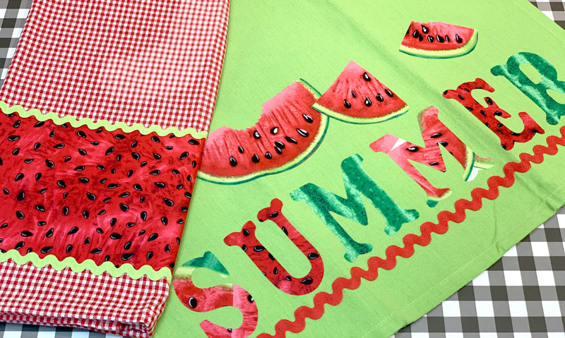 Summer Watermelon Towels @ Medford Location | Medford | Oregon | United States