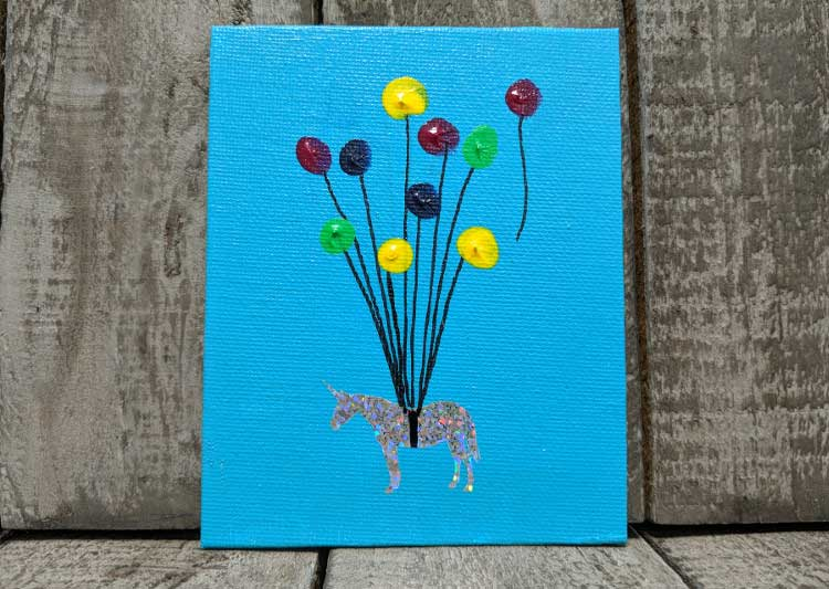 Unicorn Mini Canvas @ Craft Warehouse @ Gresham Station | Gresham | Oregon | United States