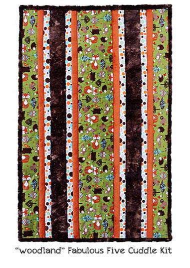Woodland Fabric Kits at Craft Warehouse