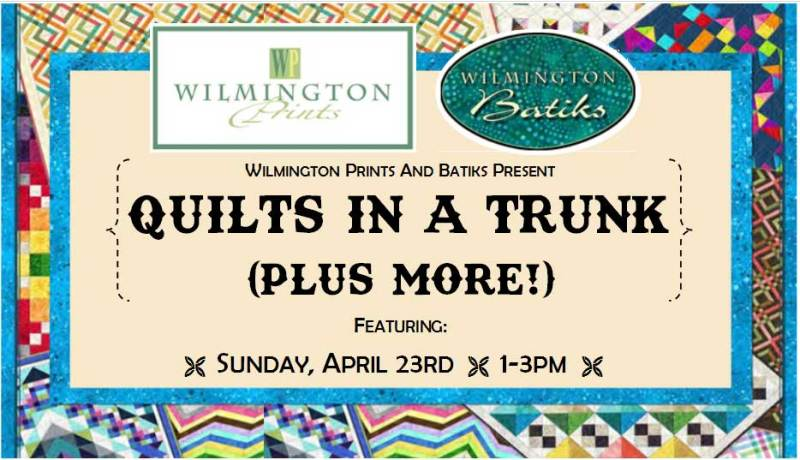 Trunk Show - Wilmington Prints @ Beaverton Location | Vancouver | Washington | United States