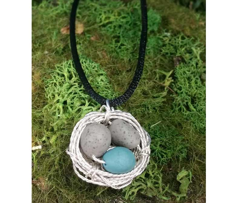 Wire Wrapped Bird Nest Charm @ Medford Location | Medford | Oregon | United States