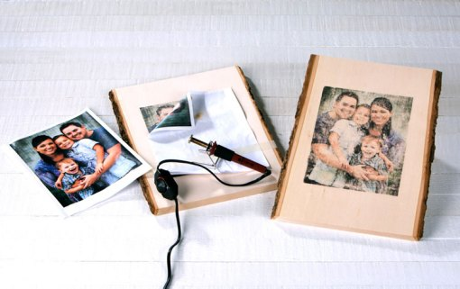 Versa Wood Burning Tool transfers images to wood! At Craft Warehouse