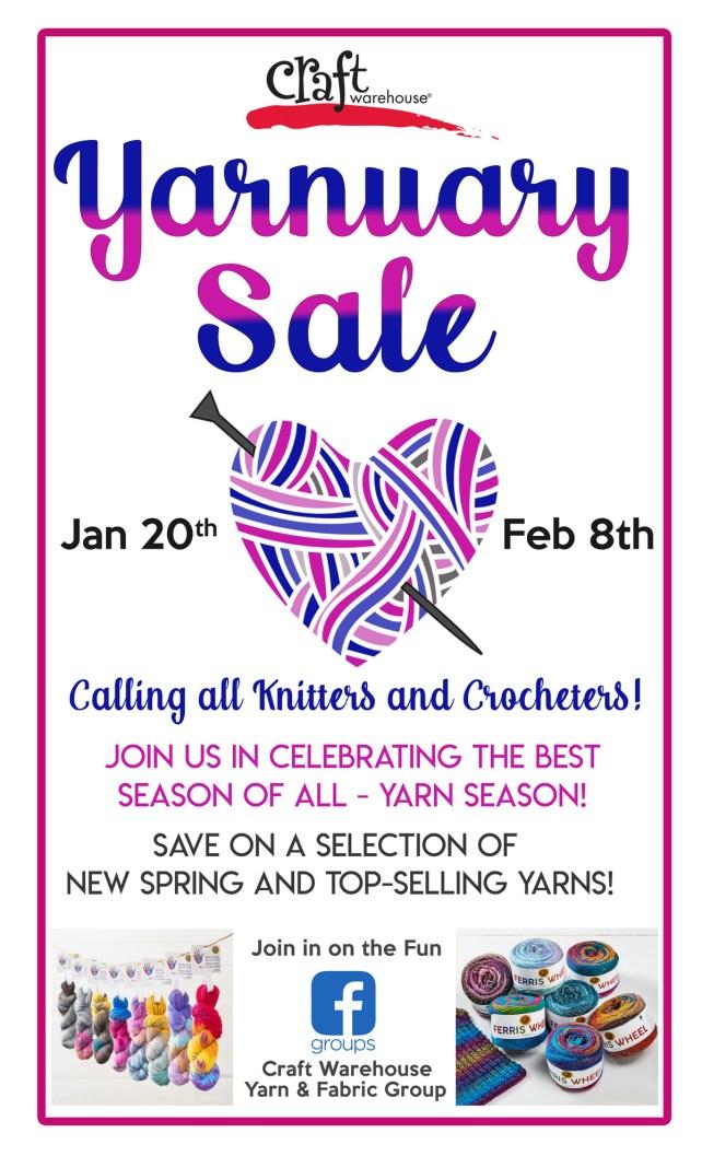 Yarnuary Sale through Feb 8