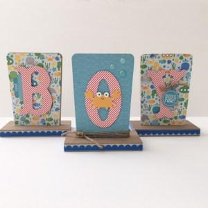 doodlebug anchors aweigh baby boy scrapbook paper sign