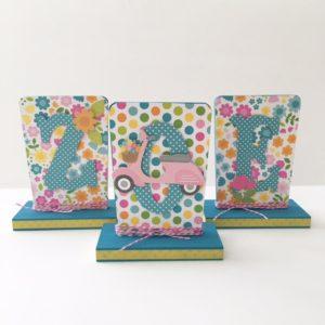 doodle bug spring garden scrapbook paper girls decor