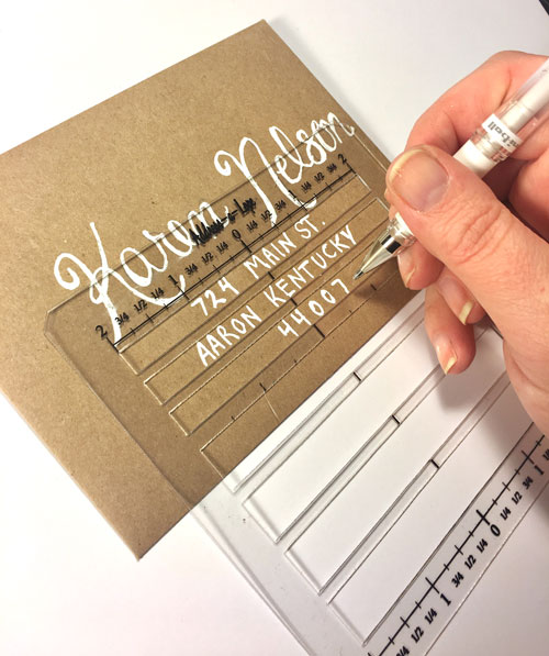 Try the Address-a-Lope Envelope Template for creating envelopes, invitations, happy mail and more. At Craft Warehouse