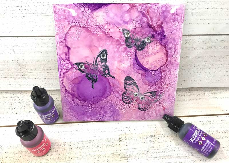 Happy Hour: Alcohol Ink Tile @ Vancouver Location | Vancouver | Washington | United States