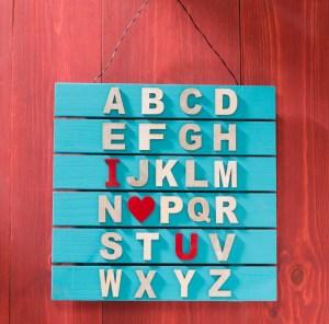 alphabet love art
