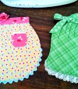 Apron Potholders with Riley Blake Calico Days Fabric